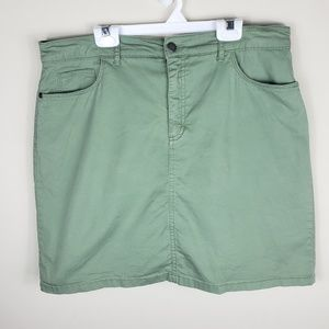 Croft & Barrow | Army Green Skort